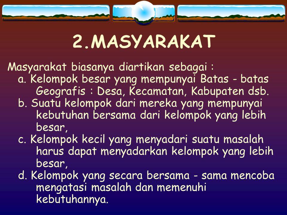 2.MASYARAKAT