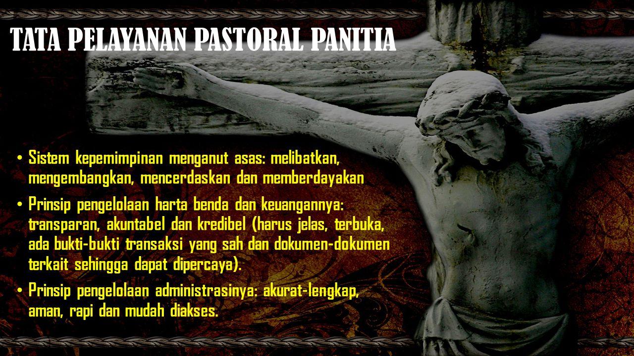 TATA PELAYANAN PASTORAL PANITIA