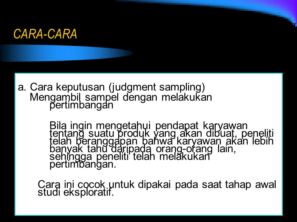 CARA-CARA
