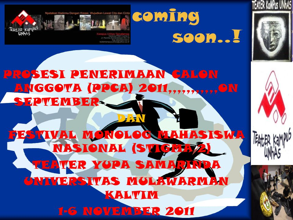 coming soon..! PROSESI PENERIMAAN CALON ANGGOTA (PPCA) 2011,,,,,,,,,,,ON SEPTEMBER.