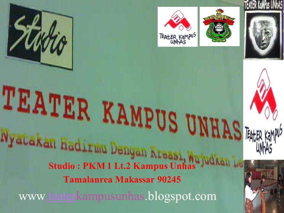 Studio : PKM 1 Lt.2 Kampus Unhas