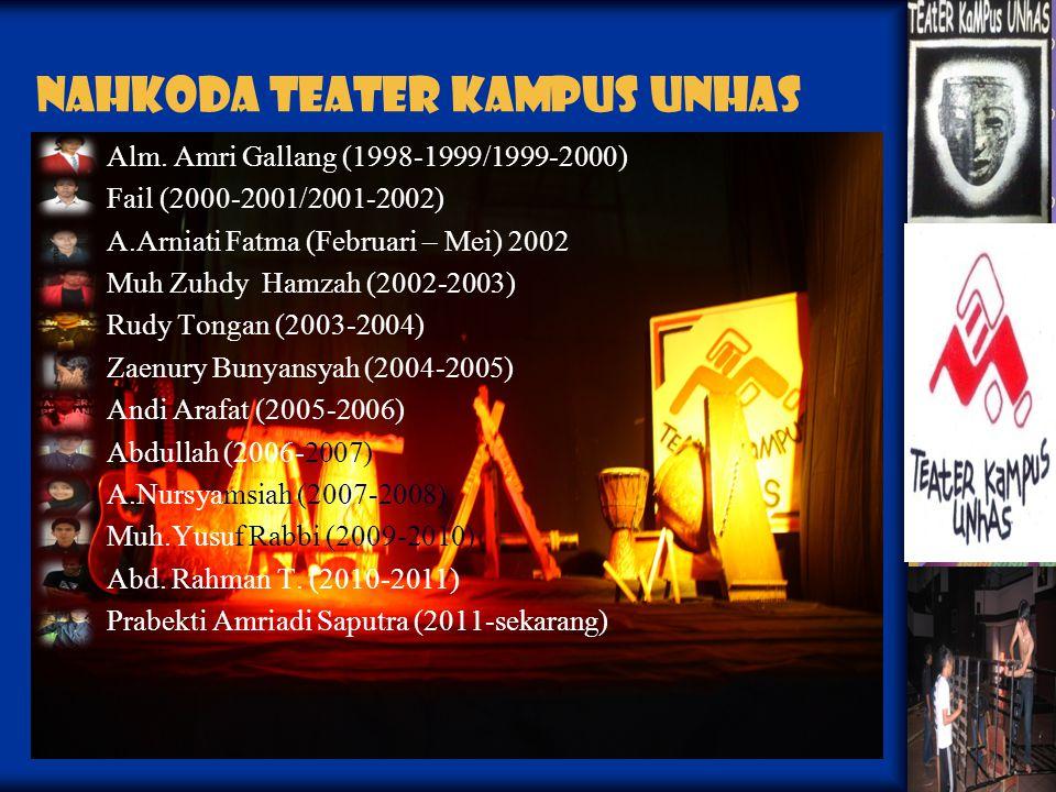 NahKoda Teater Kampus Unhas