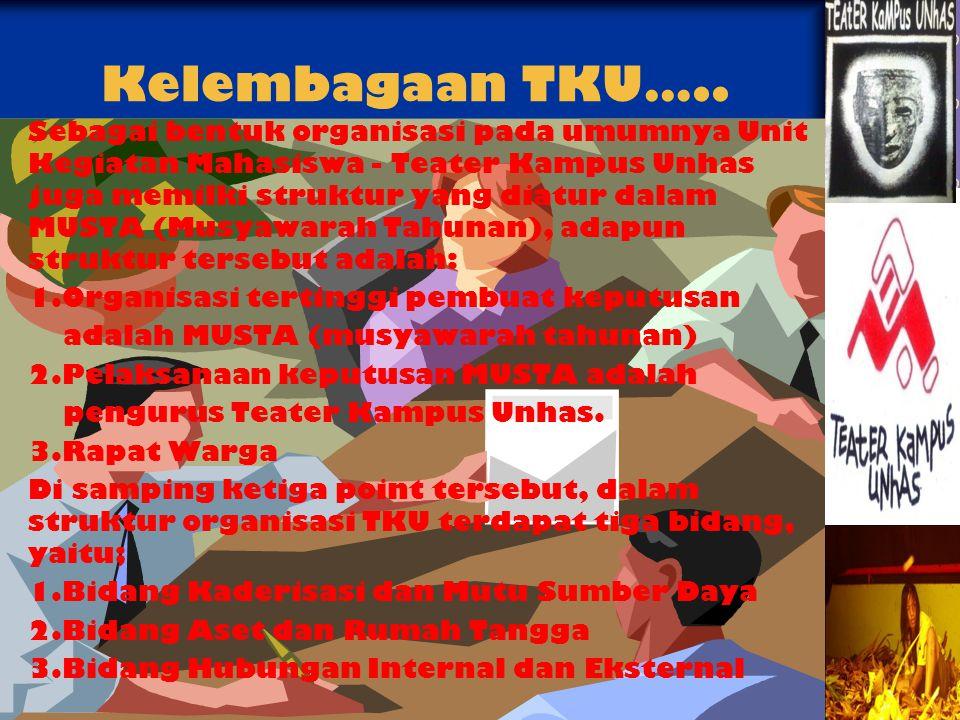Kelembagaan TKU…..