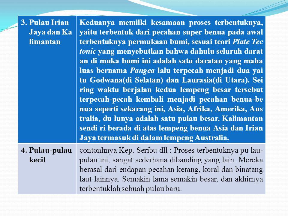 1 3. Pulau Irian Jaya dan Ka limantan