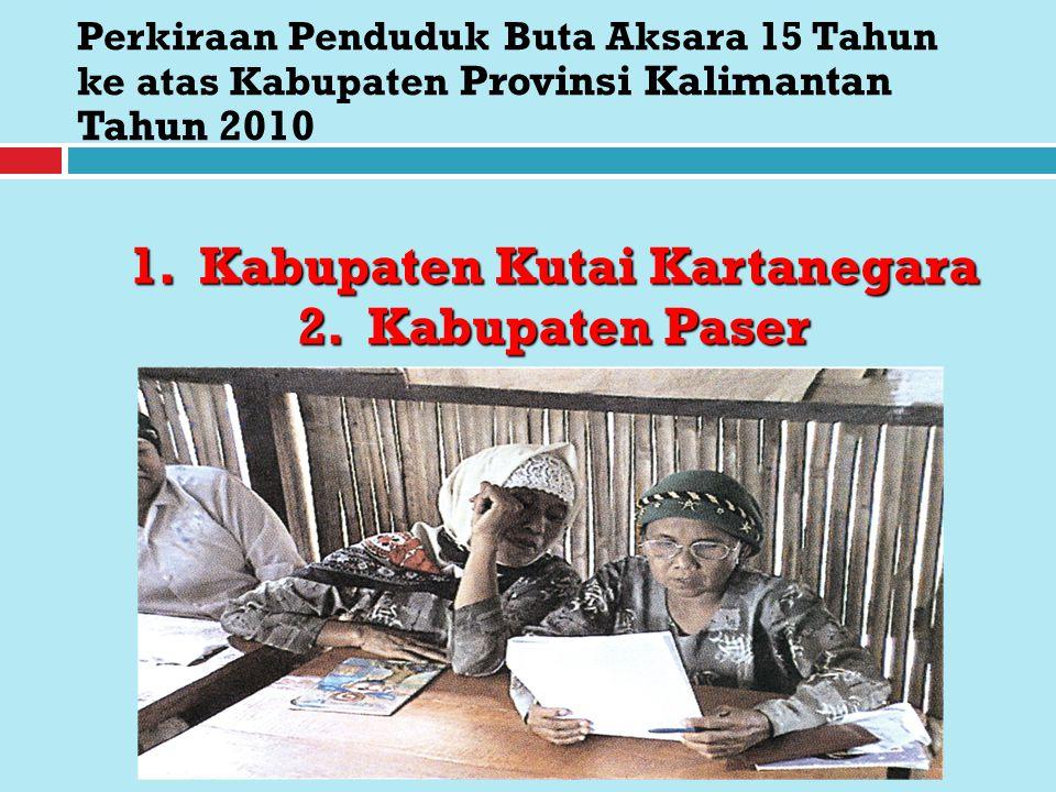 1. Kabupaten Kutai Kartanegara