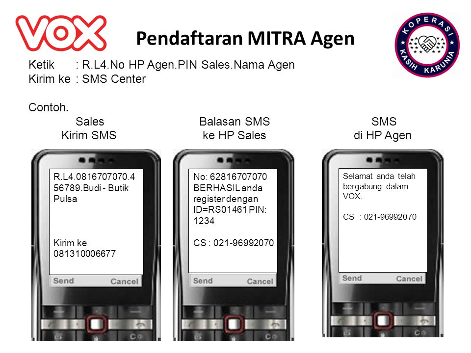 Pendaftaran MITRA Agen