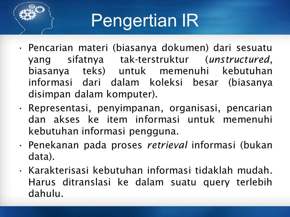 Pengertian IR