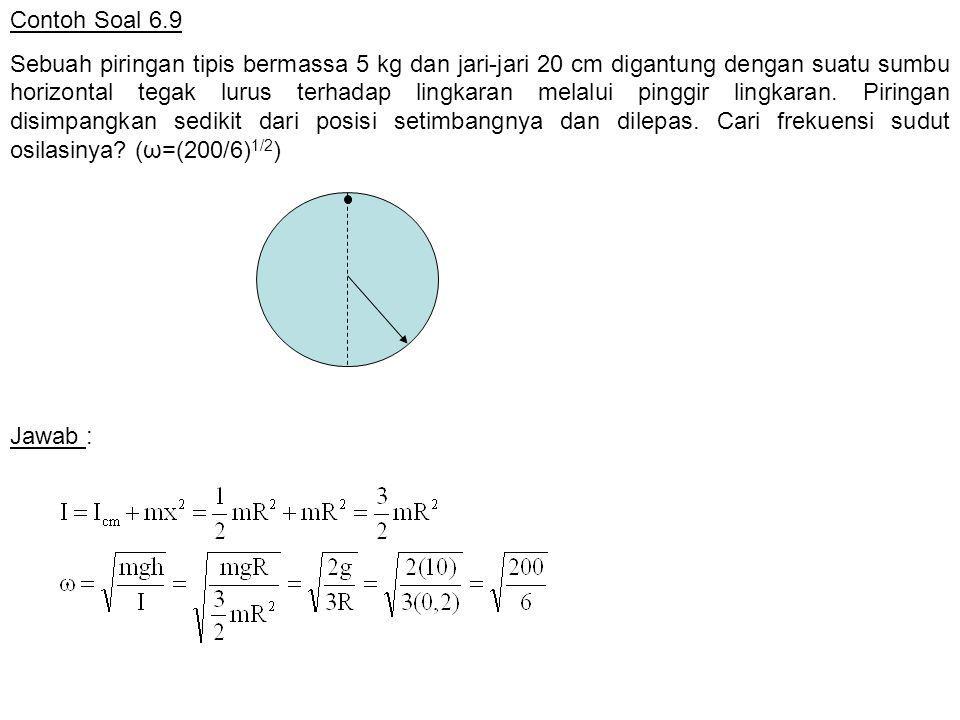 Contoh Soal 6.9