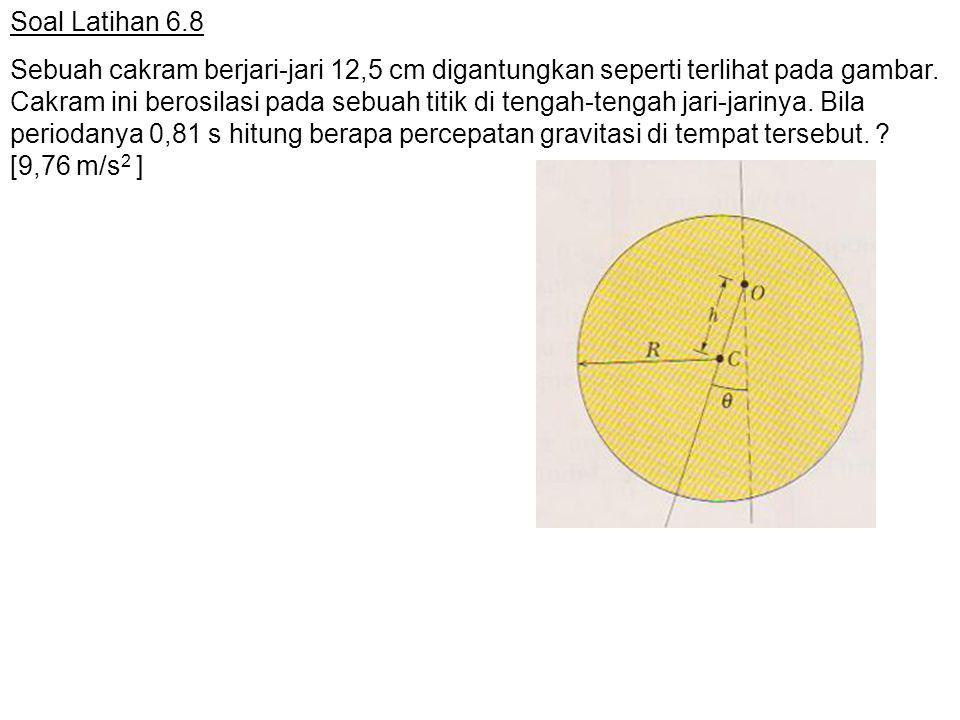 Soal Latihan 6.8