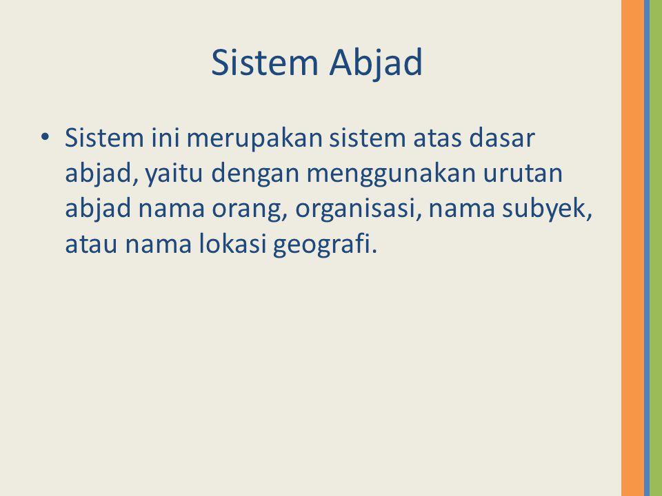 Sistem Abjad