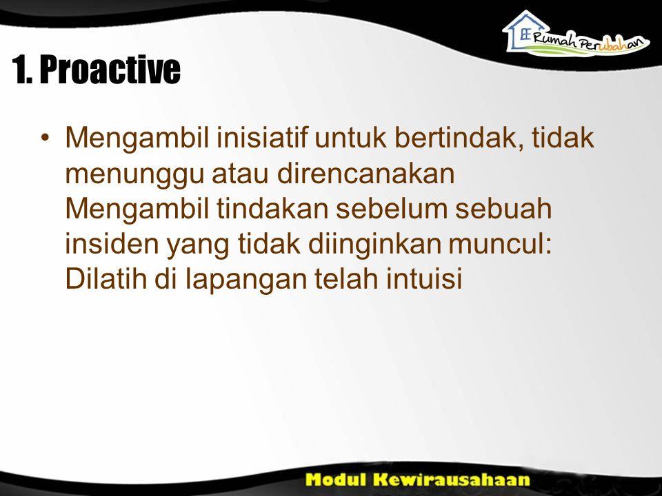 1. Proactive