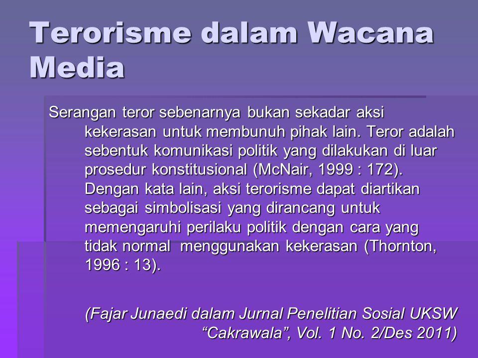 Terorisme dalam Wacana Media