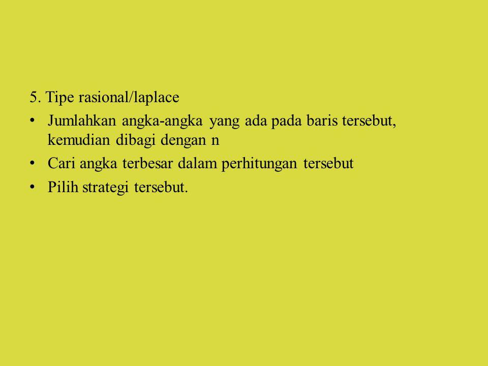 5. Tipe rasional/laplace