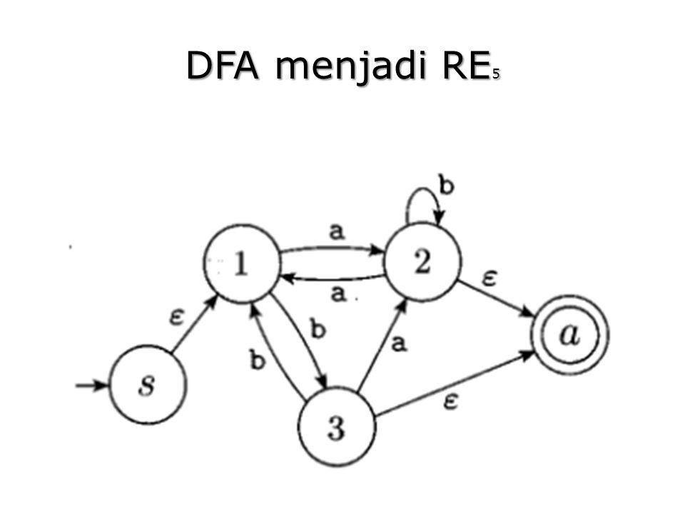DFA menjadi RE5