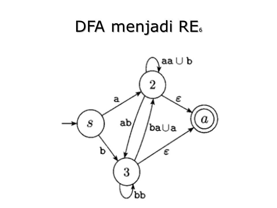 DFA menjadi RE6