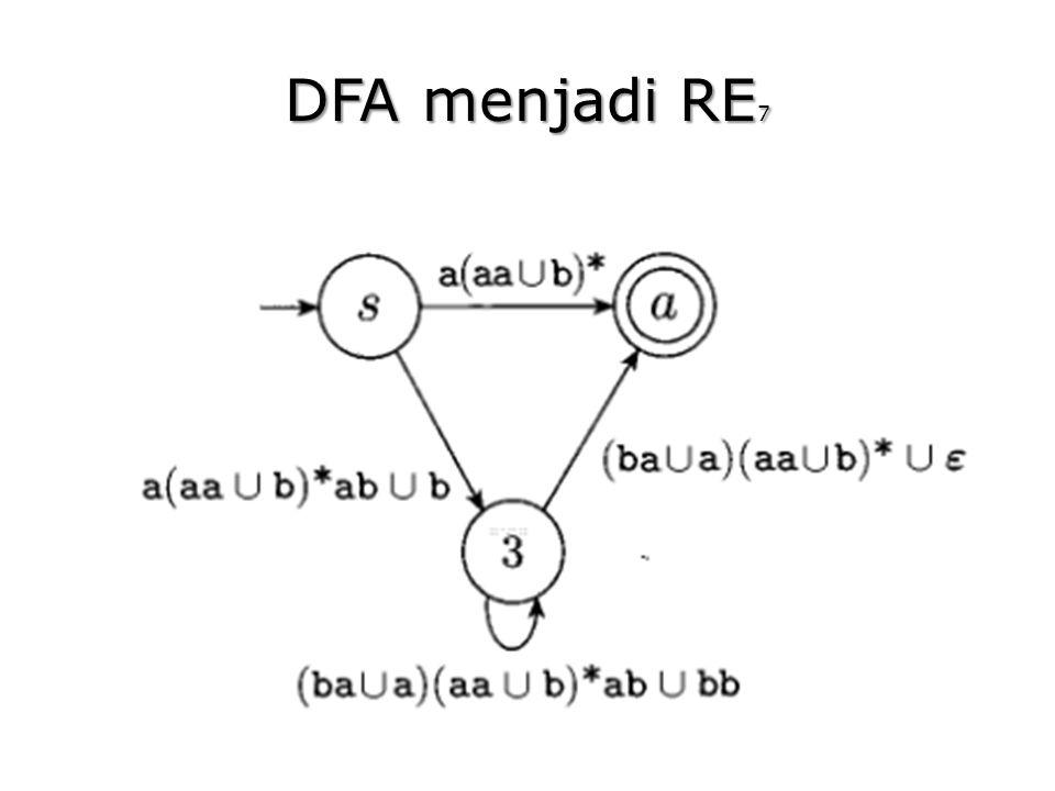 DFA menjadi RE7