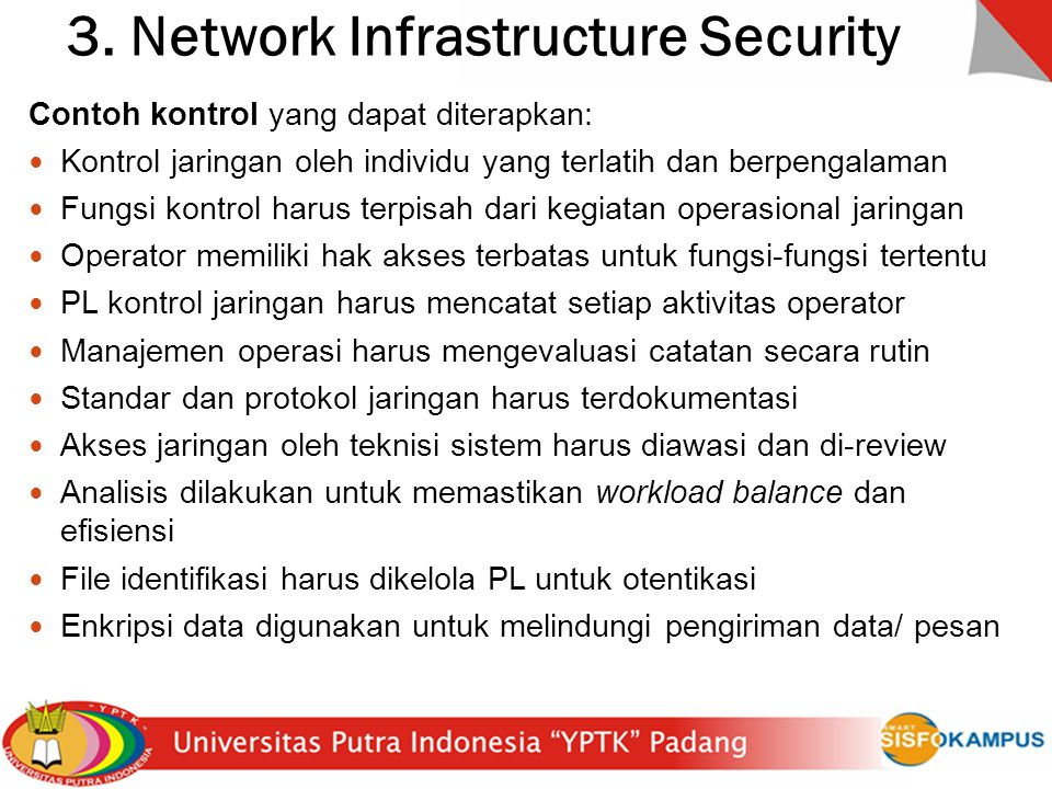 3. Network Infrastructure Security