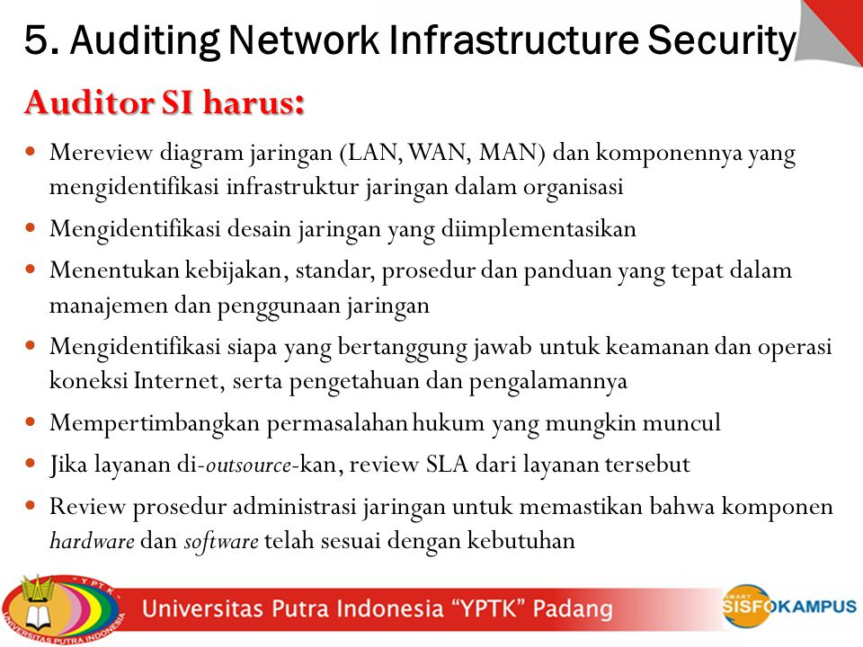 5. Auditing Network Infrastructure Security