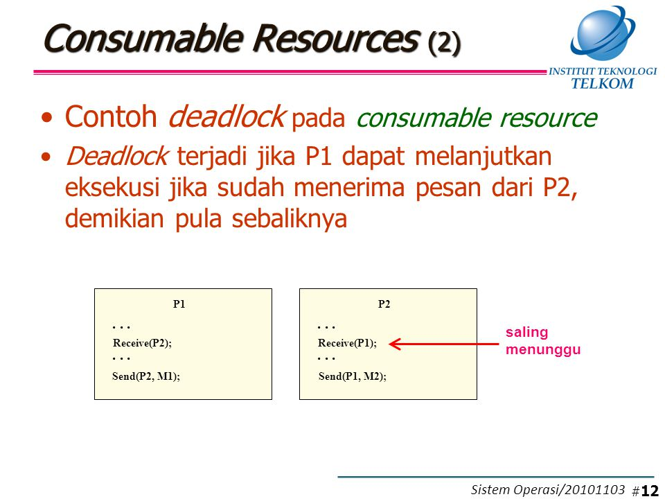 Resource Allocation Graphs (RAG) (1)