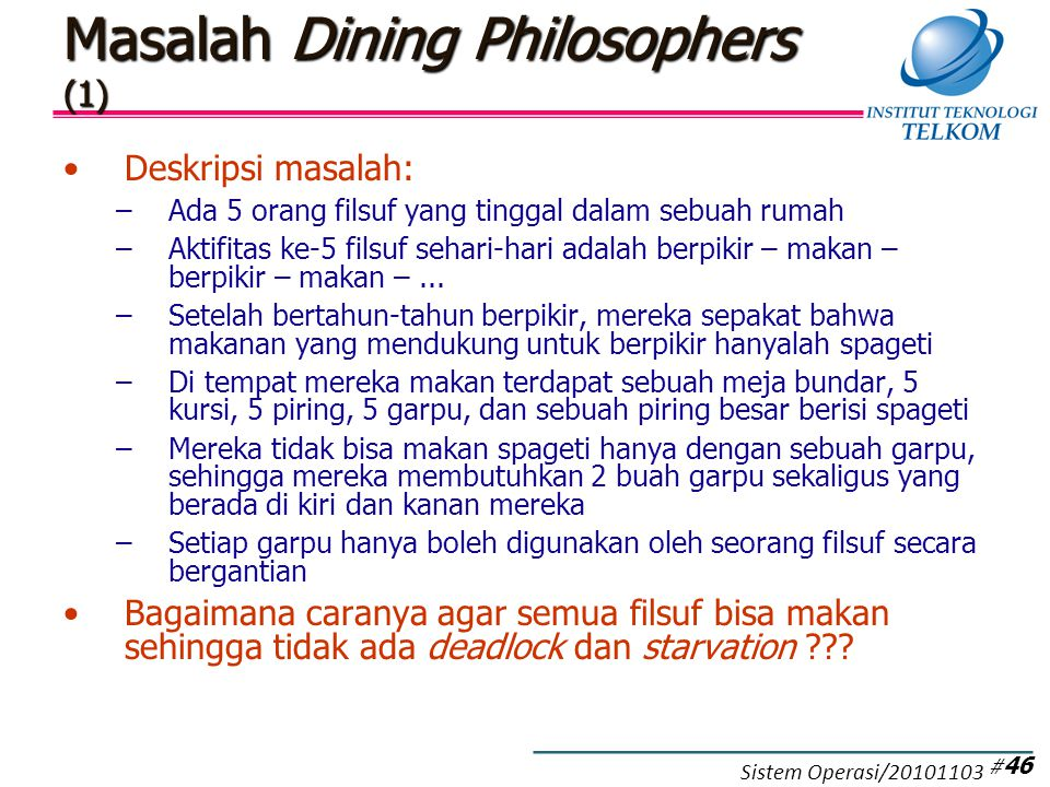 Masalah Dining Philosophers (2)