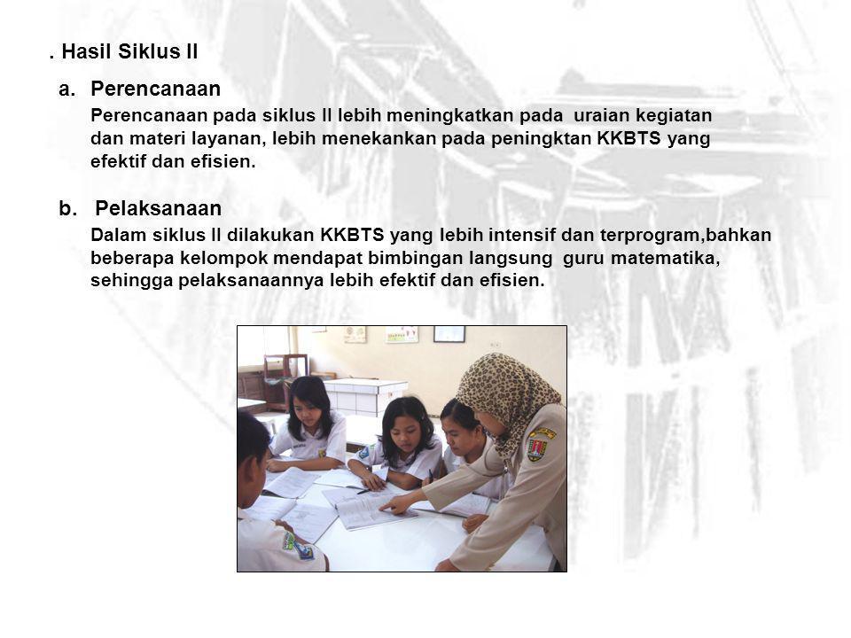 Gambar 5 Guru membimbing langsung pelaksanaan KKBTS