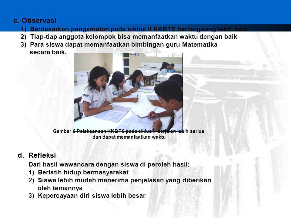 Dari hasil wawancara dengan siswa di peroleh hasil: