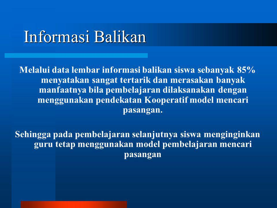 Informasi Balikan
