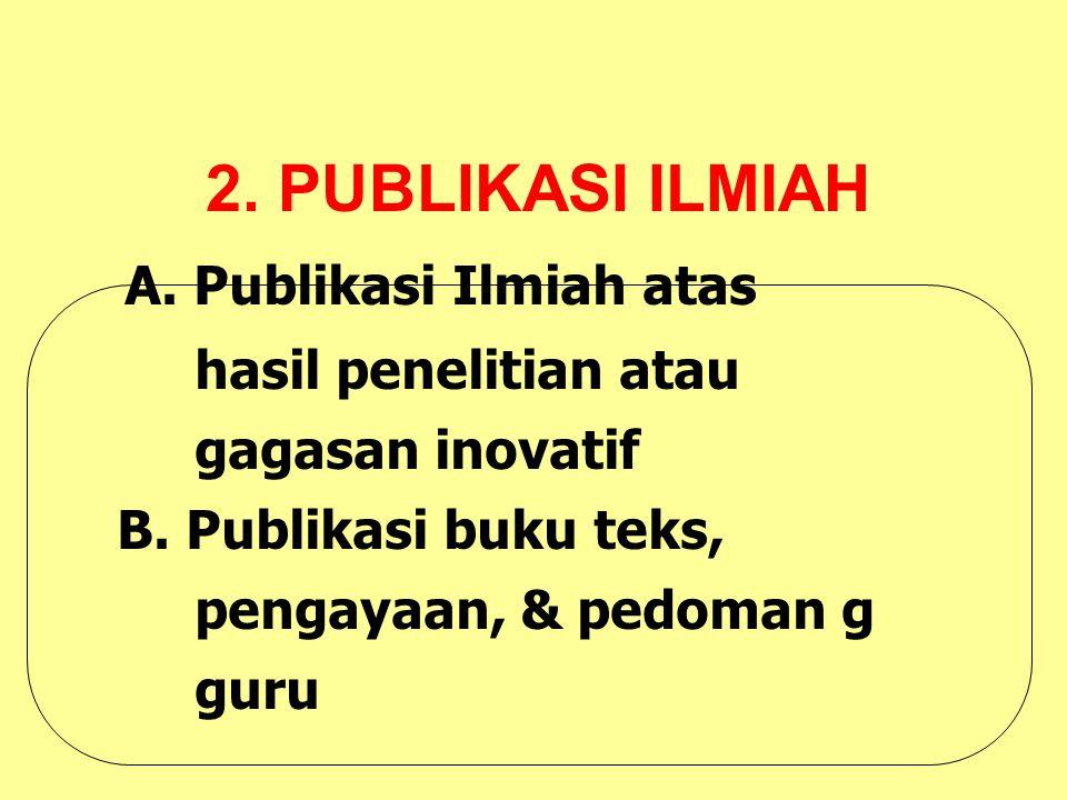2. PUBLIKASI ILMIAH