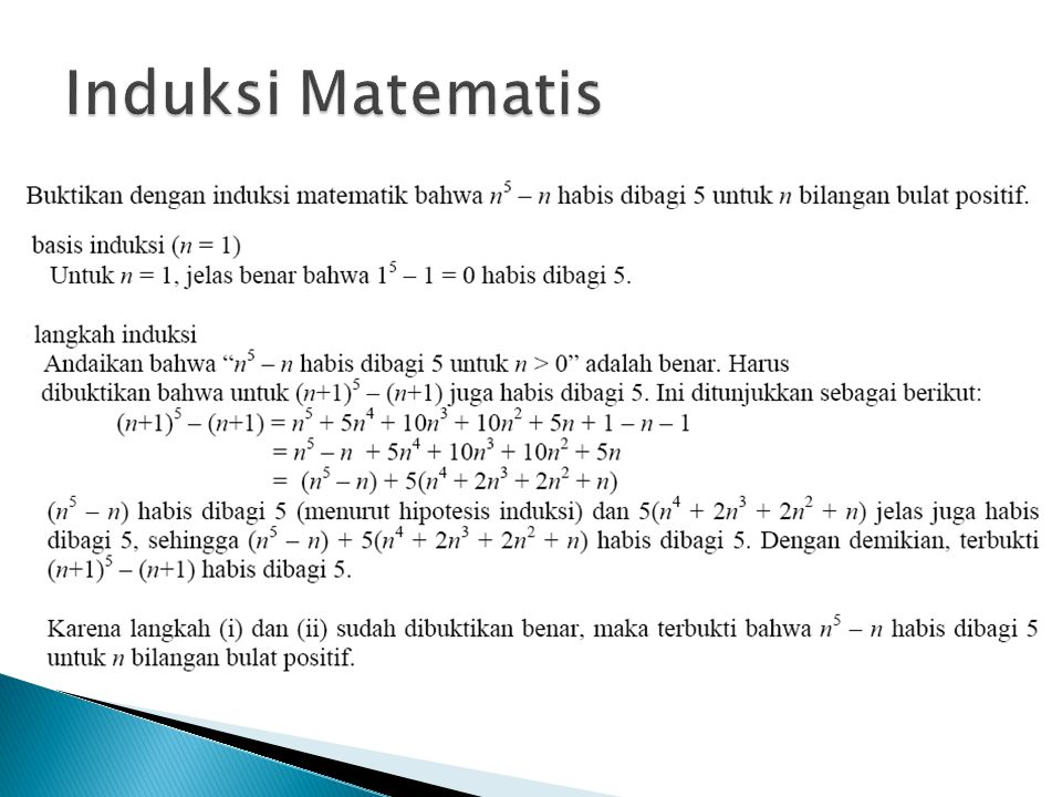 Induksi Matematis