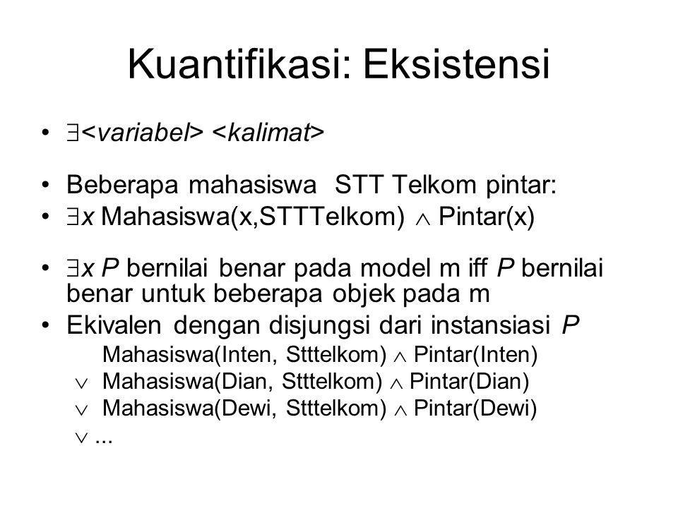 Kuantifikasi: Eksistensi