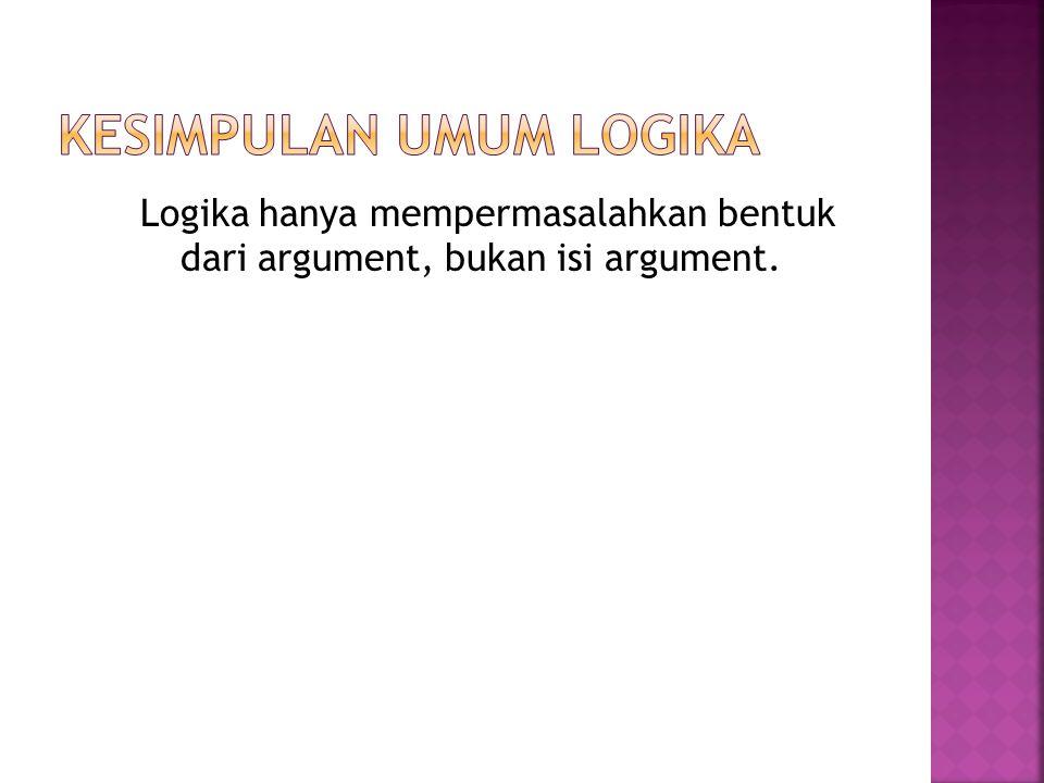 Kesimpulan umum logika
