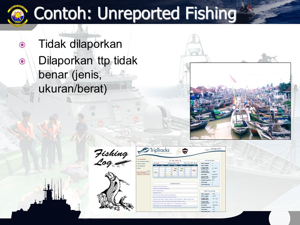 Contoh: Unreported Fishing