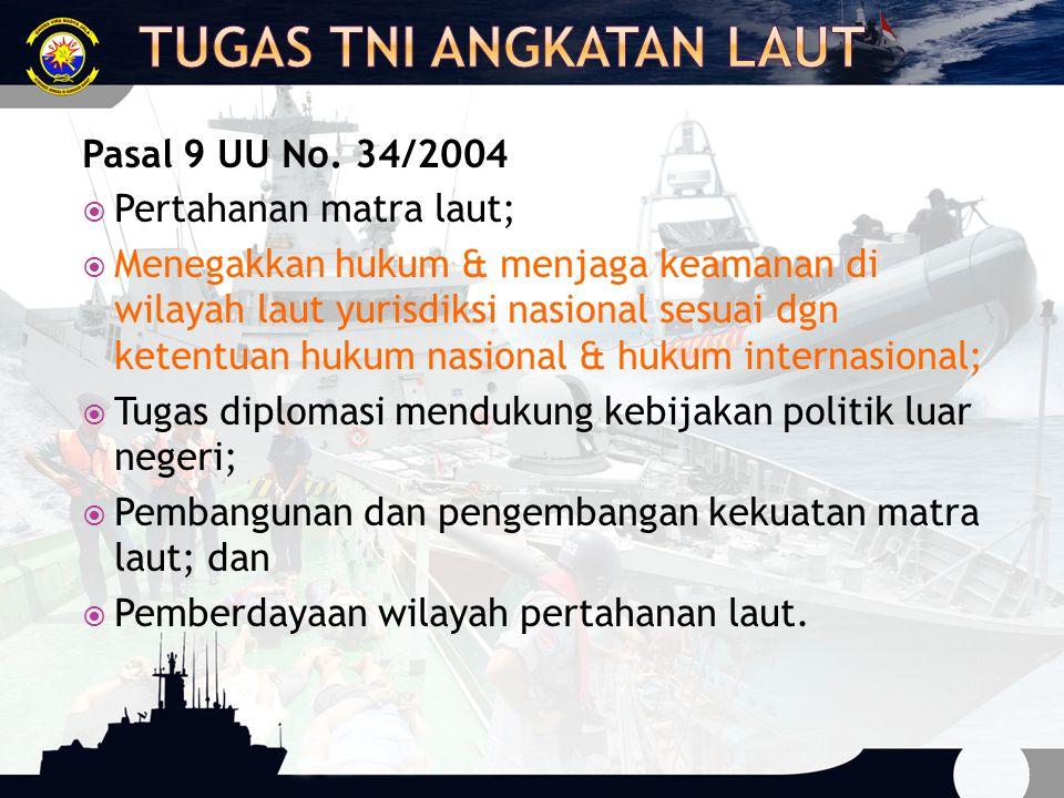 Tugas TNI Angkatan Laut