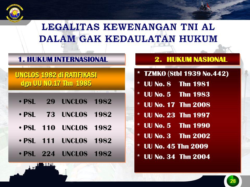 LEGALITAS KEWENANGAN TNI AL DALAM GAK KEDAULATAN HUKUM