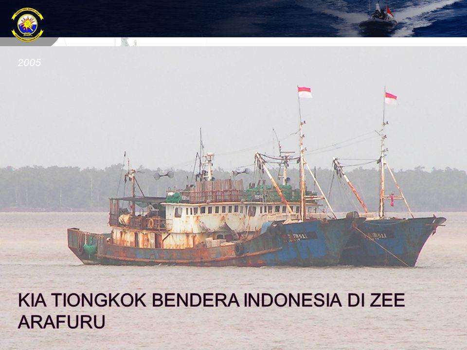 KIA Tiongkok Bendera Indonesia di ZEE araFuru