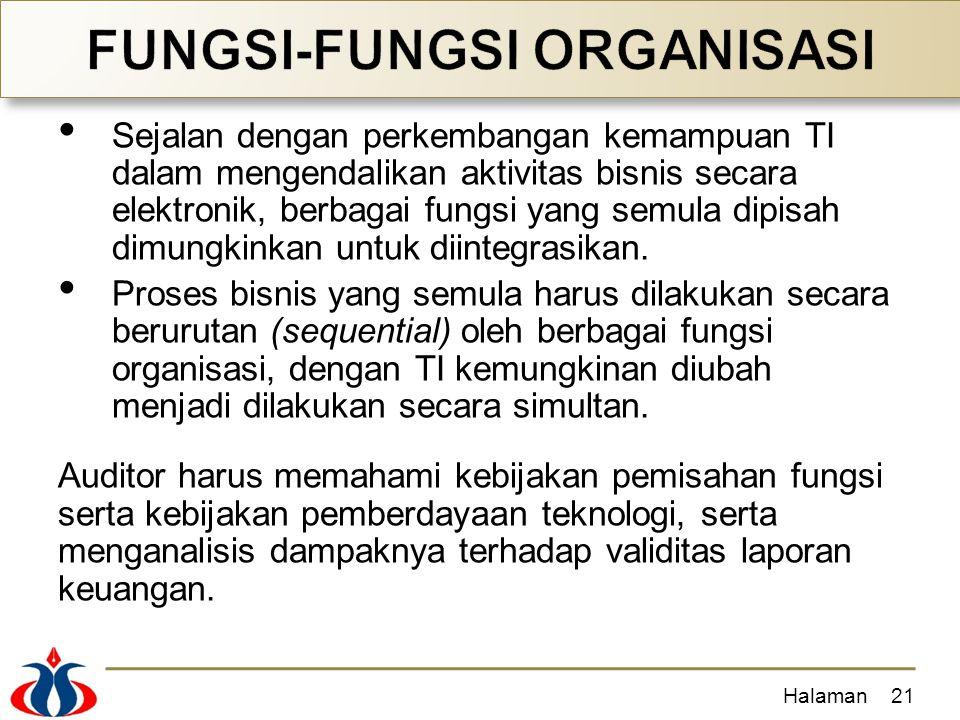 FUNGSI-FUNGSI ORGANISASI