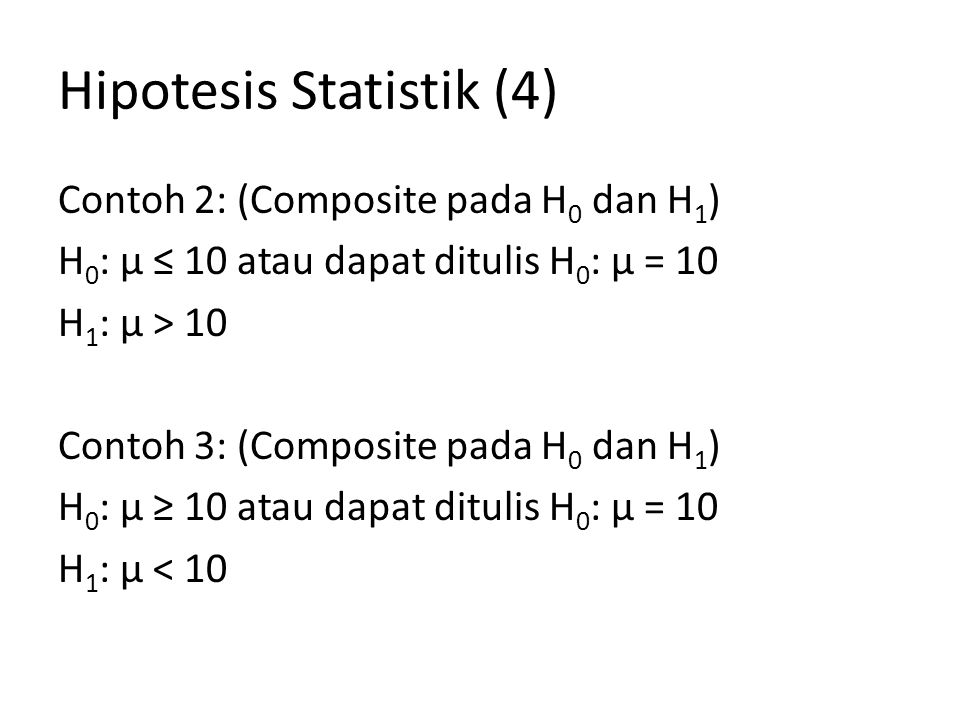 Hipotesis Statistik (4)