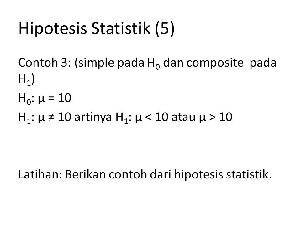 Hipotesis Statistik (5)