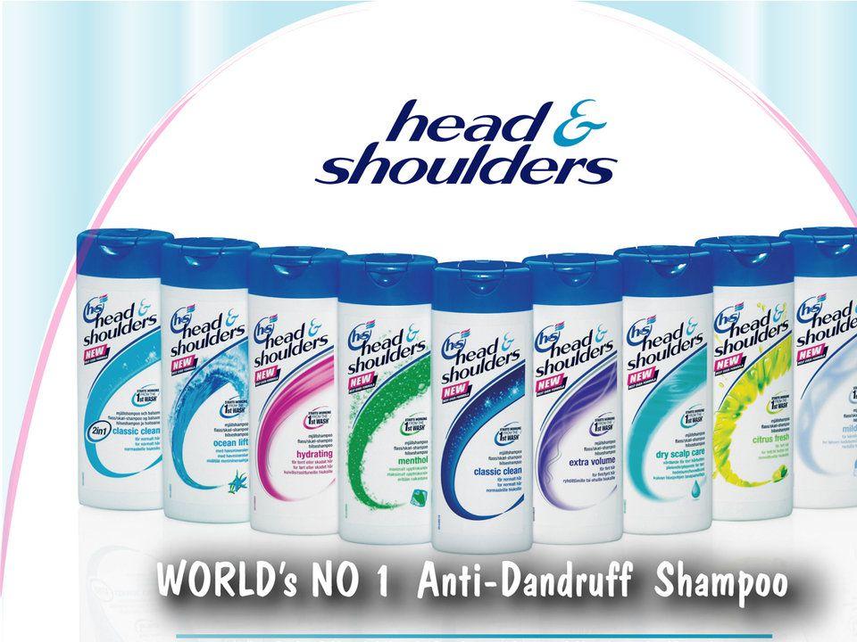 Dari iklan Head and Shoulders, Darius menanyakan tentang shampoo nomor dua dan nomor satu di dunia.