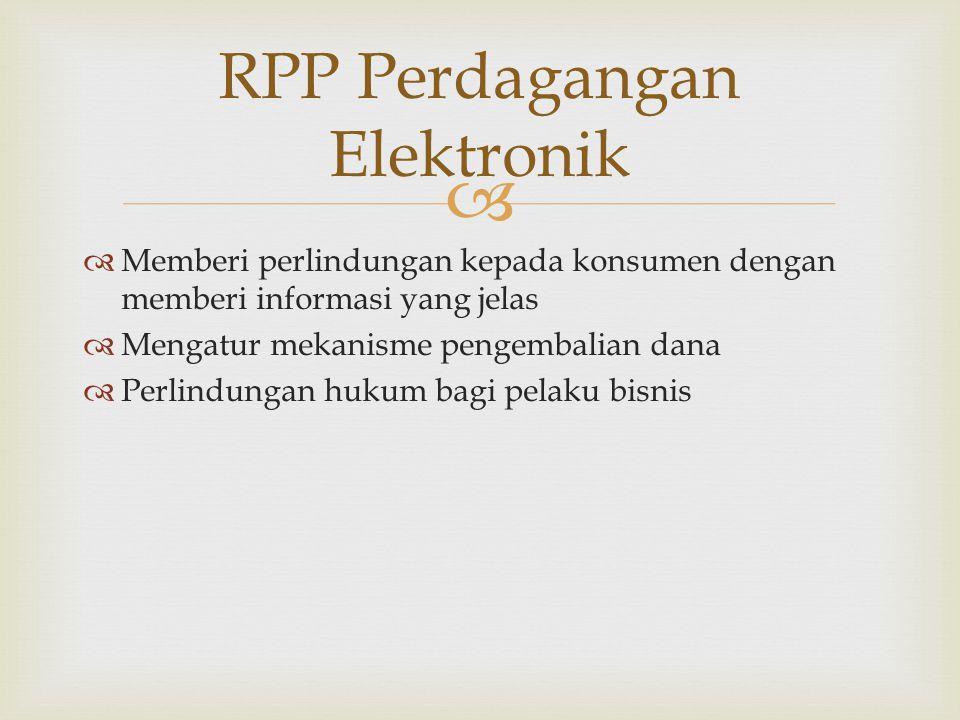 RPP Perdagangan Elektronik
