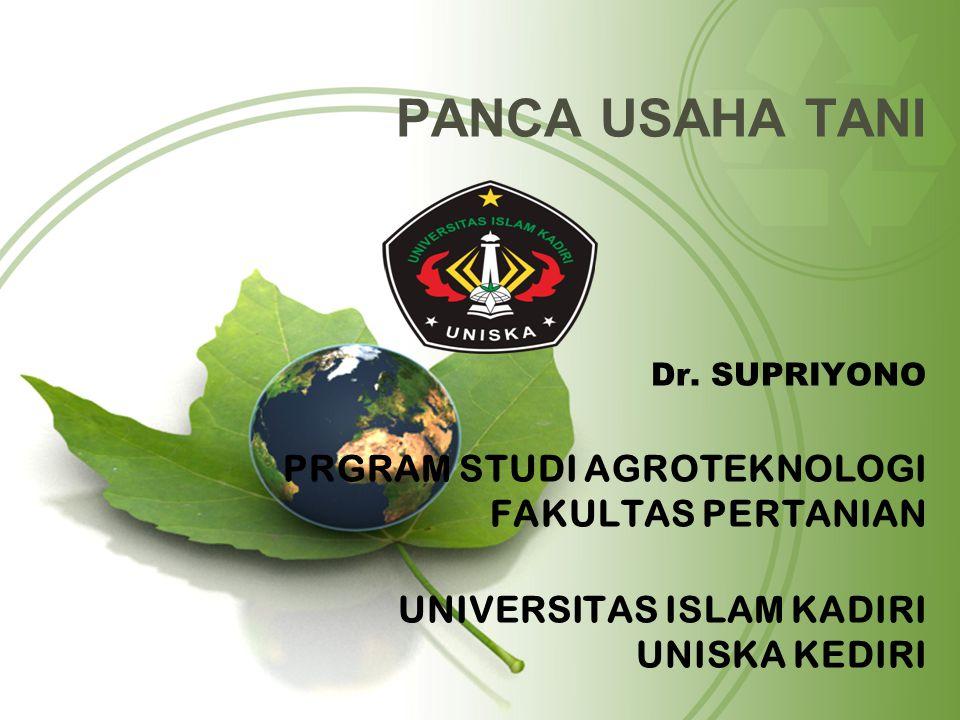 PANCA USAHA TANI Dr.