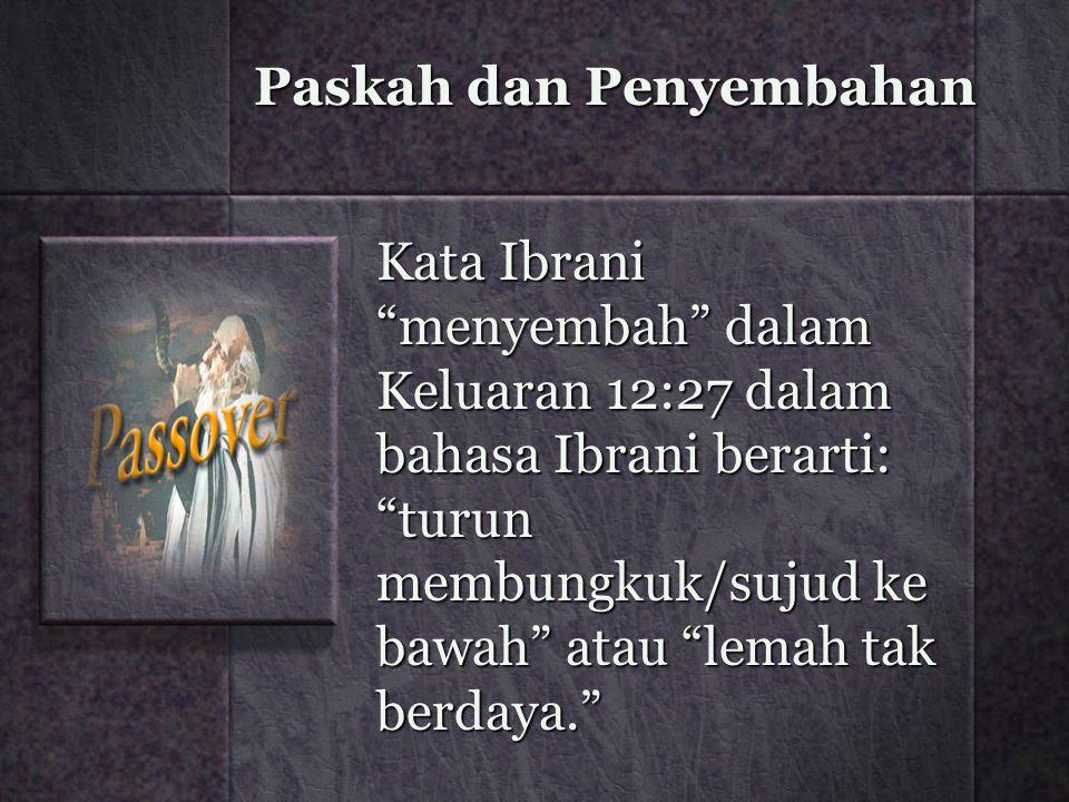 Paskah dan Penyembahan