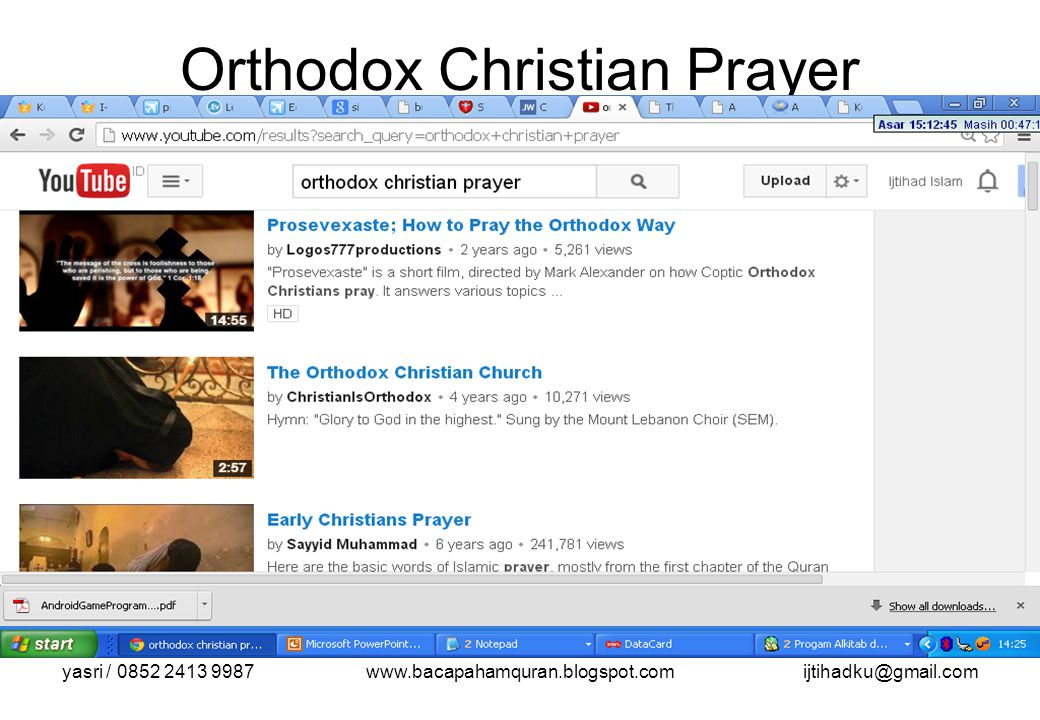 Orthodox Christian Prayer