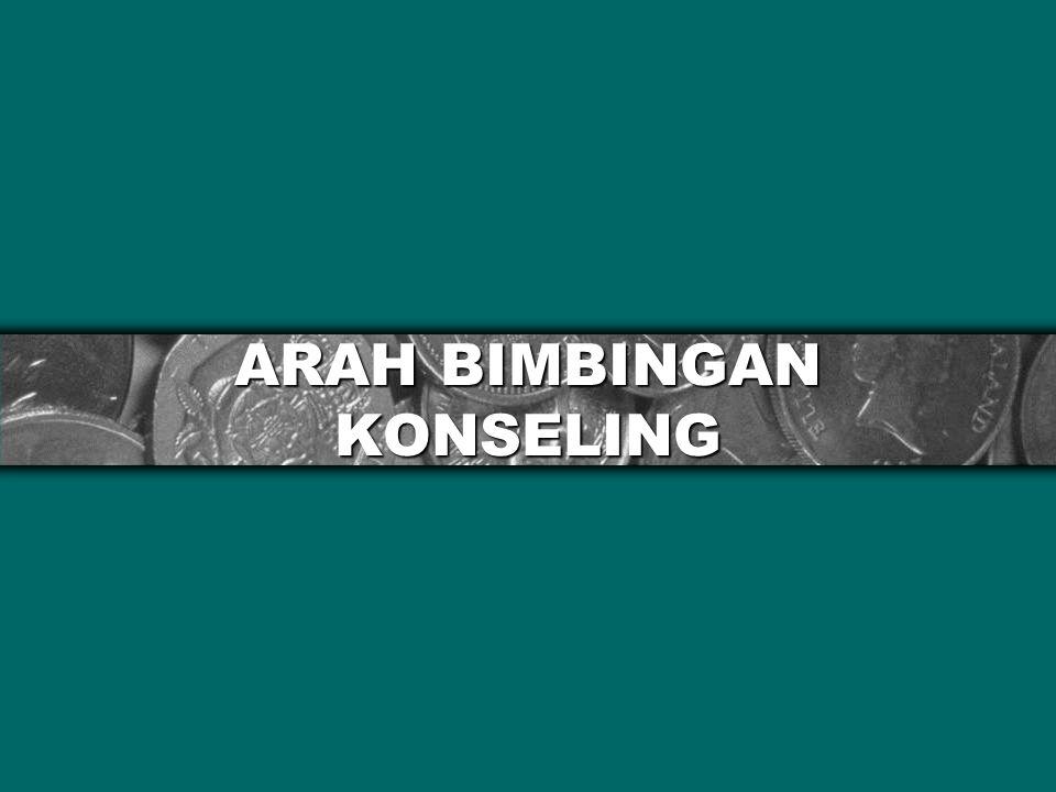 ARAH BIMBINGAN KONSELING