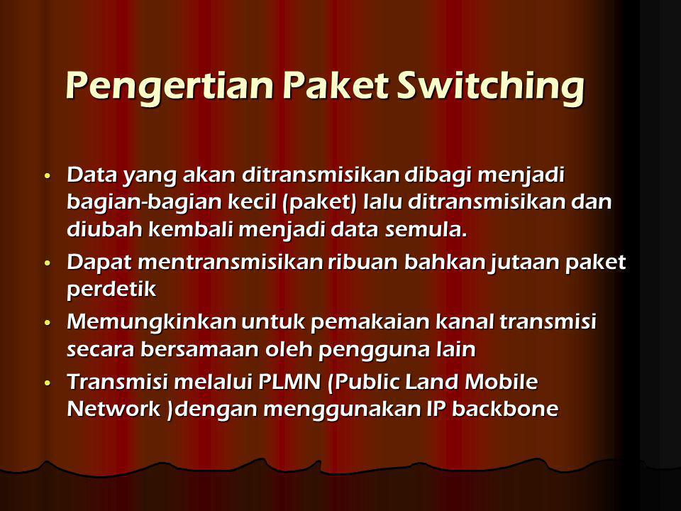 Pengertian Paket Switching