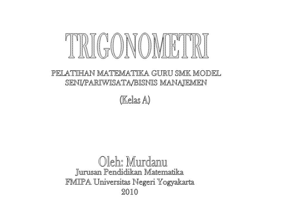 PELATIHAN MATEMATIKA GURU SMK MODEL SENI/PARIWISATA/BISNIS MANAJEMEN