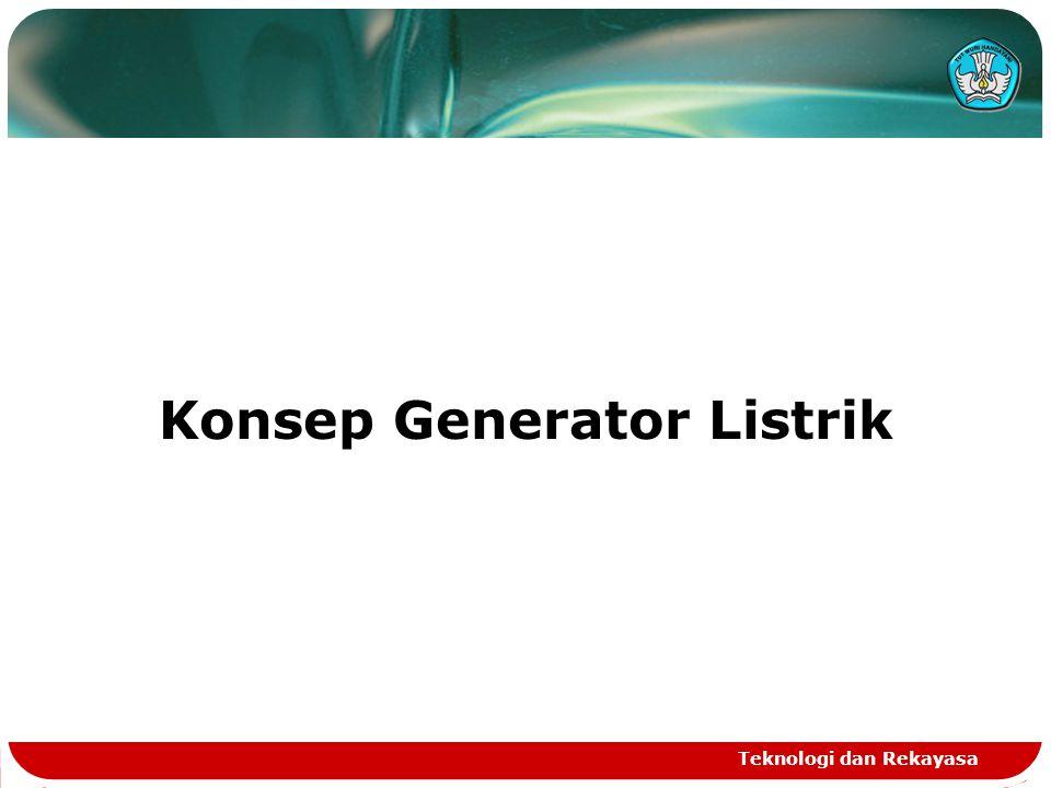 Konsep Generator Listrik