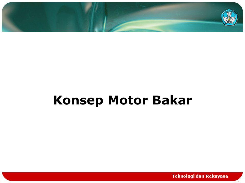 Konsep Motor Bakar Teknologi dan Rekayasa