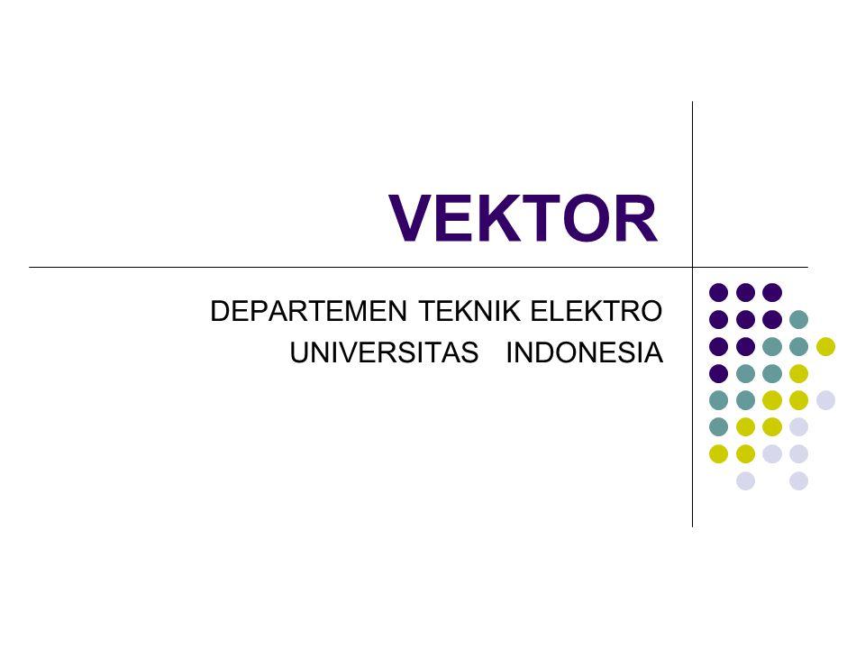 DEPARTEMEN TEKNIK ELEKTRO UNIVERSITAS INDONESIA