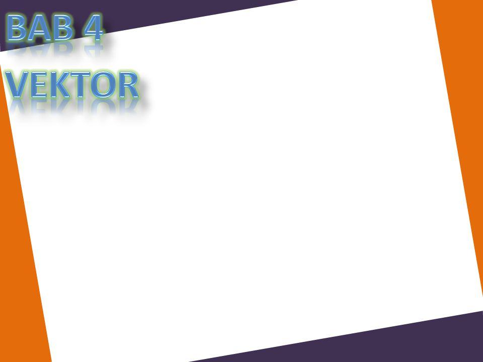 Bab 4 vektor